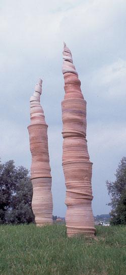 spiralen tuinkeramiek